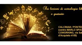 LEZIONI DI ASTROLOGIA A CALCINAIA – INGRESSO LIBERO E GRATUITO