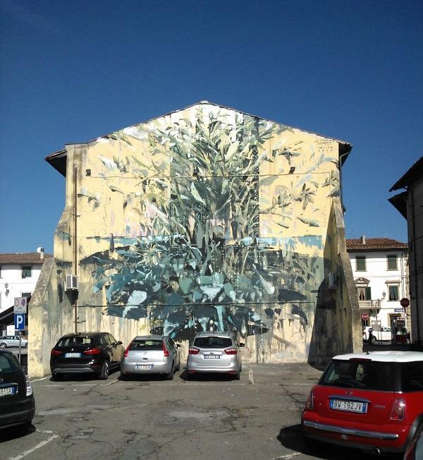 Il murales permanente di JERICO