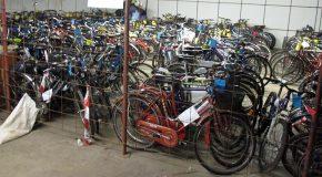 Biciclette abbandonate a Marciana in giacenza presso la Polizia Municipale