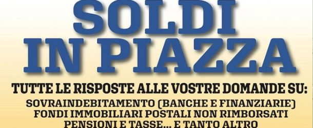 Soldi in piazza a Bientina