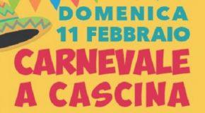 Domenica a Cascina c'è il Carnevale
