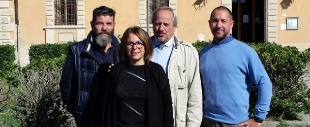 LA FORZE DELL'ORDINE IN COMUNE A CALCI