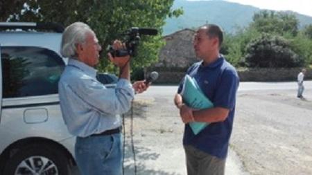 Giulio Messerini rilascia le proprie dichiarazioni alla TV