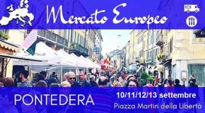 Da giovedì 10 via al Mercato Europeo a Pontedera nella nuova location