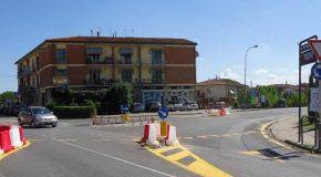 L'1 E IL 2 aprile si asfalta la rotatoria di via Matteotti – Predisposto un percorso alternativo per aggirare i lavori