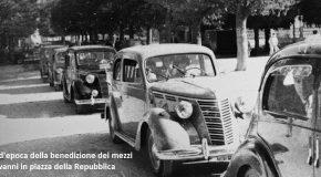 DOMENICA RIEVOCAZIONE STORICA E BENEDIZIONE DEI MEZZI D'EPOCA (ANNI '50) A SAN GIOVANNI ALLA VENA
