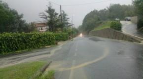 BIENTINA – Prime piogge (diluvio) e primi (ricorrenti) problemi