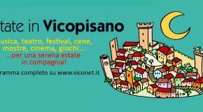 PRIMO WEEK – END DI LUGLIO RICCO DI APPUNTAMENTI A VICOPISANO