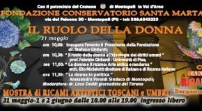 """MOSTRA DI RICAMI ARTISTICI A MONTOPOLI (31 MAGGIO, 1/2 GIUGNO): PROTAGONISTA L'ASSOCIAZIONE """"FILI E FANTASIA """" DI CUCIGLIANA"""