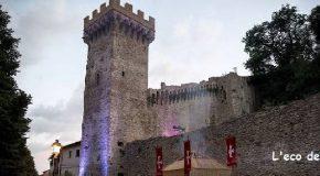 Saluti da Vicopisano con le cartoline Pemcards in occasione del Festival delle luci di Vicopisano, il 5 e 6 settembre